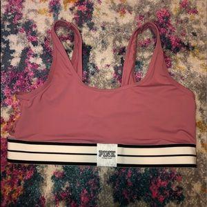 Pink bralet